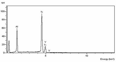 Fig 3: Spectrum EDS, Obtained from the Coated Surface